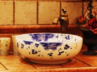 ,传统格调,浴室台盆,