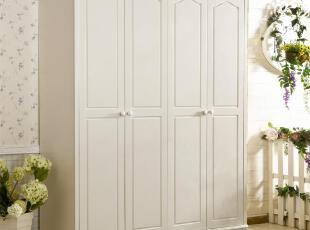 平滑圆润象牙白色,简约优雅大气弥漫真个卧室。,现代主义,衣柜,