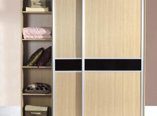 内部结构 按CAD图为准,板材:横竖板为18MM厚.背板为5MM厚.门板为9MM厚,现代主义,衣柜,