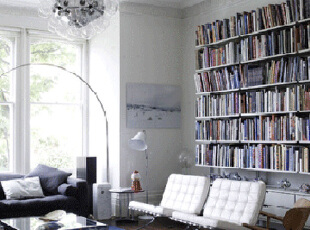 8种不同风格的独特客厅设计,