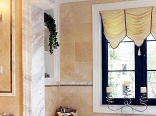阳光窗台打造自然卫浴间,