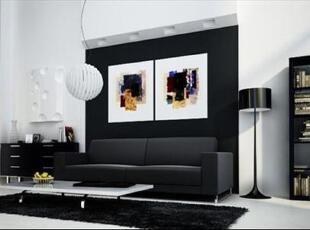 北欧风格打造自然舒适客厅,