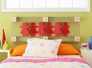 充满想象力的儿童床头,