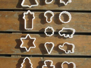 【超划算】塑料饼干切模 饼干模具 14件 烘培DIY器具 0.68元个,DIY,