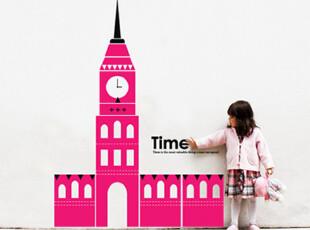 【Asa room】韩国壁贴代购 客厅贴纸创意DIY异国城堡墙贴多色a524,DIY,