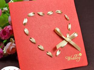 请帖 喜帖 结婚 创意2012 对折式 中式 结婚请柬 diy半成品,DIY,