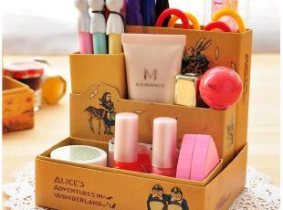 默默爱♥创意家居 小王子童话插画 桌面收纳盒 DIY纸质储物盒,DIY,