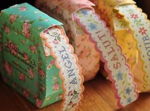 田园碎花 纸质胶带贴纸 DIY相册日记装饰必备 6款选,DIY,