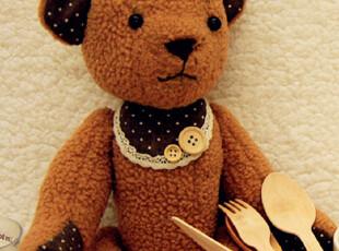 布艺公仔diy 手工diy 布偶 娃娃 百变手工小熊 diy泰迪熊材料包,DIY,