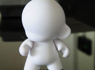 Kidrobot Munny四英寸白模公仔玩偶 DIY涂鸦设计创意素体模型,DIY,