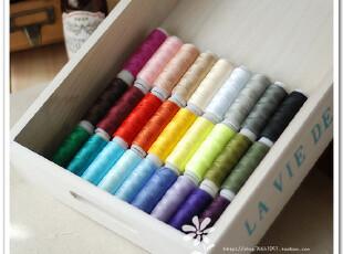 DIY布艺手工工具 30色缝纫线 手缝线 盒装线 颜色随机,DIY,