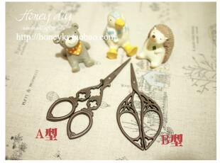 honeyDIY工具 zakka铁质复古剪刀 diy必备工具剪刀,DIY,