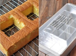 烘培模具 创意活动/活字固底蛋糕模/方形海绵蛋糕模 可做水浴盘,DIY,