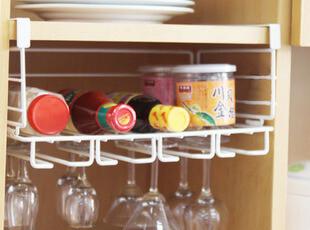宜家厨房用品DIY卡式厨房置物架橱柜置物架 红酒杯收纳架,DIY,