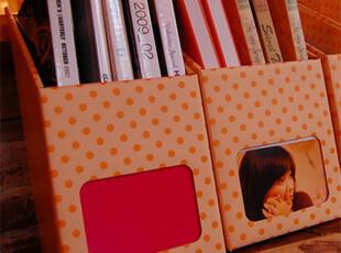 创意文具|韩国文具.文件杂志收纳盒|DIY书架书立.大号.3款选,DIY,