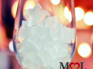 mol DIY冰爽夏季 可爱冰格 星星/可爱小形状可选 高品质0.1,DIY,