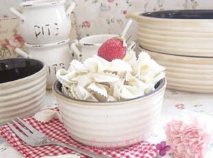 冲5钻外贸陶瓷DIY烘焙盘子蒸饭烤箱微波ZAKKA蛋糕布丁美式圆烤碗,DIY,