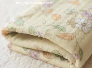 宝宝布料夹棉针织布-服装衣服面料diy纯棉手工布料 和风花柄 半米,DIY,