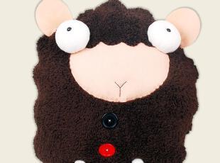 偶耶毛绒玩具 大绵羊公仔抱枕 沙发坐垫靠垫 手工diy材料包L039L,DIY,