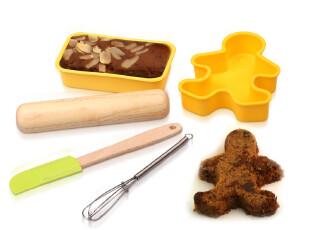 Stylor/花色家居 厨房用品 小小蛋糕师 五件套 烘焙模具DIY 正品,DIY,