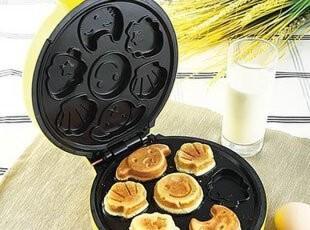 卡通蛋糕机家用早餐面包机 DIY蛋糕烘焙机烘焙工具(7配件),DIY,