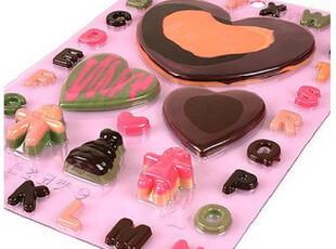 韩国进口 情人节 DIY巧克力模具 字母 爱心 模具,DIY,