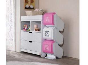 【韩国家居】*玩具*脏衣*报纸*杂物等DIY贴纸分类整理收纳箱n1051,DIY,