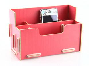 多功能桌面收纳盒 时尚 DIY可爱笔筒 创意办公文具杂物盒1021,DIY,