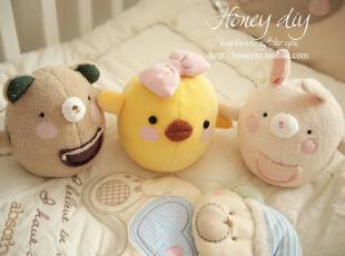 honey DIY儿童益智玩具玩偶不倒翁 带叮咚铃声(非成品),DIY,