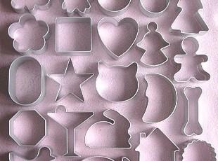 【最全食品模具】全套22种饼干模具 凤梨酥蛋糕模具diy烘焙烤箱用,DIY,