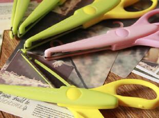 【满6件包邮】DIY手工必备鲸鱼锯齿 花边剪刀 手工相册专用多款,DIY,