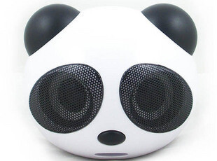 大熊猫电脑音箱 插卡小音箱低音炮带收音机 胎教mp3播放器u盘音响,U盘,