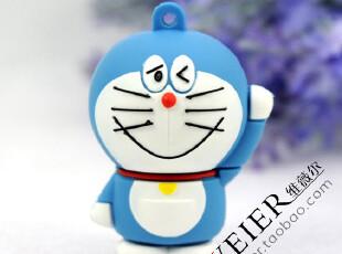 【折】u盘8g正品特价包邮 卡通 创意 u盘 机器猫u盘 哆啦a梦 包邮,U盘,