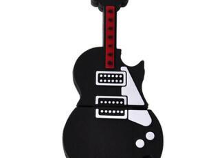 时光札记吉他8G足量个性U盘可爱U盘创意U盘卡通u盘礼物包邮,U盘,