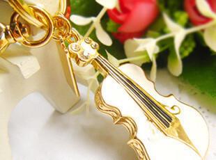 u盘16g特价包邮创意U盘 水晶小提琴U盘 个性钥匙扣U盘礼品U盘16GB,U盘,