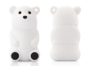 台湾Bone 白熊 8G U盘 优盘 创意U盘 可爱卡通 正品,U盘,