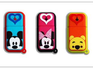 Disney迪士尼正品牌 8g u盘正品高速 8gu盘特价包邮 个性卡通米奇,U盘,