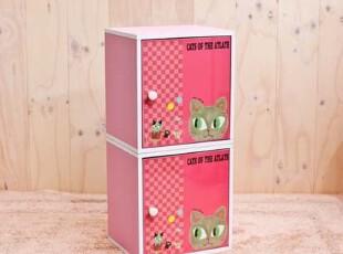 『韩国网站代购』Shinzi Katoh加藤真治多用途储物柜/书柜两件组,书架,