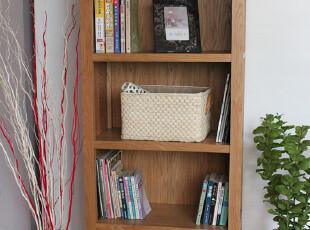 原始原素 白橡木家具 白橡木书架 实木书柜 书架 书橱 展示架,书架,