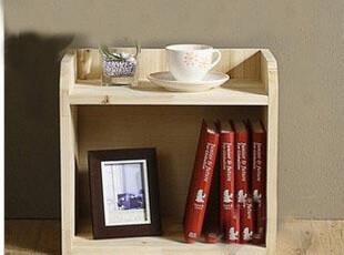 实木储物柜 书柜 收纳柜 置物架 自由组合书架 小柜子,书架,