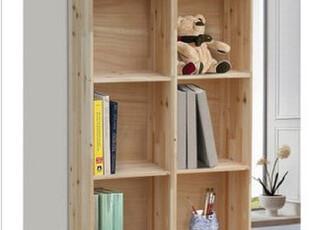 特价实木书柜 实木书架 置物架 收纳盒 实木制作 可定做,书架,