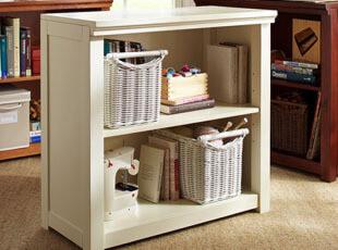 书柜 置物柜 收纳柜 书架 实木 自由 组合 韩式 田园,书架,