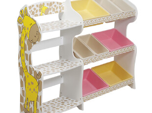 玩具架儿童玩具收纳柜箱连体书架书柜收纳创意儿童家具组合柜包邮,书架,