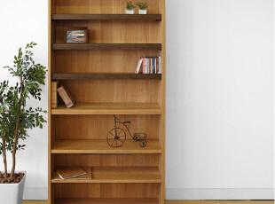 8月促销emvo 日式家具 北欧风格水曲柳/木质YC-78收纳柜/书柜书架,书架,