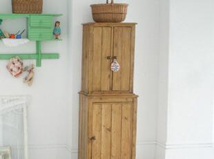 纳尼亚城堡—地中海风格家具 美式乡村 做旧餐边柜/书柜 田园复古,书架,