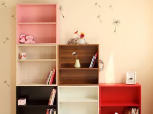 有园家具 Nick2简易书架 宜家木架书柜 创意储物格架子置物架层架,书架,