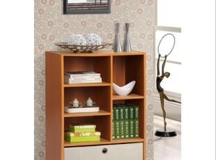 百松居多功能布抽屉式收纳盒 客厅简易书柜 组合柜储物柜宜家特价,书架,