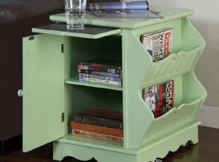 实木家具 书房家具 地中海风格家具 特价 书柜 杂志架 Y0442,书架,