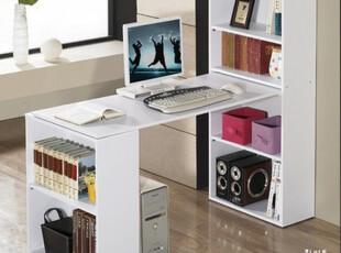 环保时尚台式家用台式电脑桌台式自由组合书柜办公书桌简约,书架,