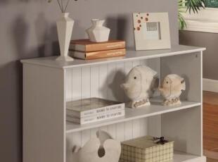 两层书柜 书架 儿童书柜 置物架 收纳书橱柜 多功能柜子 出口原单,书架,
